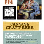 Canvas and Craft BeerJuly16